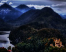 Hohenschwangau Castle in the Fall